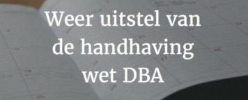 """Wet DBA met model overeenkomst- """"voorheen VAR – Verklaring"""""""